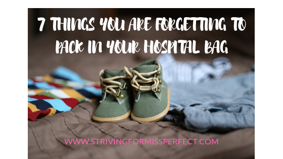 7 Things You Are Forgetting to Pack in Your Hospital Bag