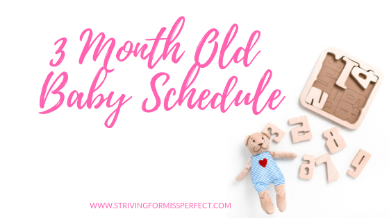 3 Month Old Baby Schedule